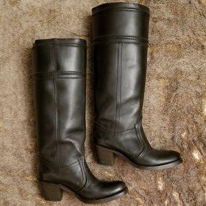 3f9530d3467 FRYE Women's Jane Extended calf 14L black Boot